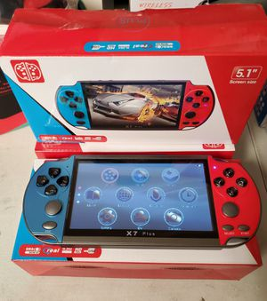 "New game plus 5.1"" screen music playing,video playing,ebook,stopwatch,camera ,tv output for Sale in Riverside, CA"