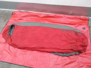 2017/2018 Big Agnes Encampment 15° F degrees Sleeping bag Regular used like new for Sale in San Diego, CA