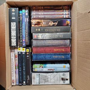 Box Of Region 4 (PAL) DVDs for Sale in Lemon Grove, CA