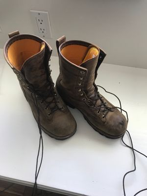 Logger boots Chippewa size 10 for Sale in Upland, CA