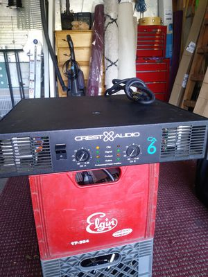 Crest CA6 power amp for Sale in Orland Park, IL