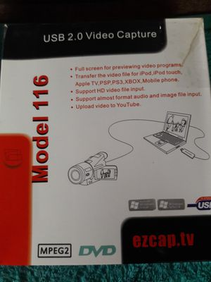 Usb video campture for Sale in Orange, TX