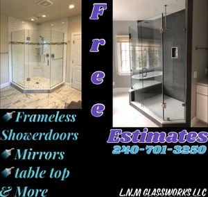 Frameless showerdoors for Sale in Silver Spring, MD