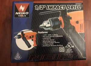 Neiko Hammer Drill 10506A for Sale in Los Angeles, CA