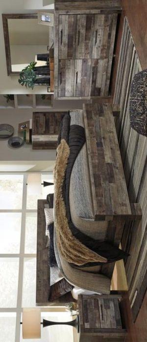 🍃$ 39 DOWN Payment  🍃 Derekson Gray Panel Bedroom Set | B200 for Sale in Laurel, MD