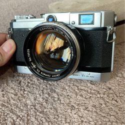 Cannon VT De Luxe 50mm 1.2 Lens for Sale in Bonney Lake,  WA