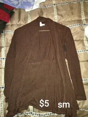 Brown light weight cardigan for Sale in Pittsburgh, PA