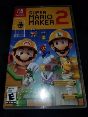 Super Mario Maker 2 for Nintendo Switch Brand New Factory Sealed for Sale in South Gate, CA