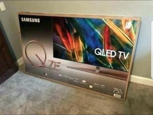 "75"" SAMSUNG QN75Q7FAMF QLED Q7 4K UHD SMART TV 240HZ 2160P (FREE DELIVERY) for Sale in Tacoma, WA"