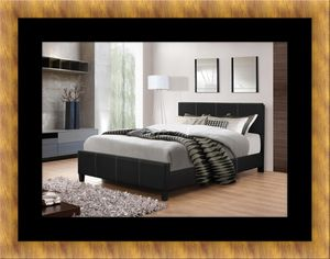 Full platform bed with box spring for Sale in Fort Washington, MD