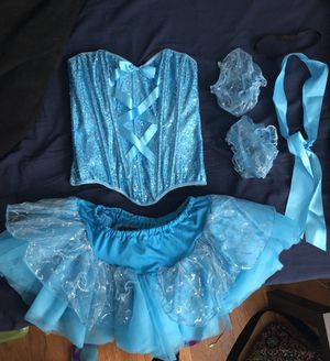 Cinderella Halloween Costume- adult size M for Sale in Hawthorne, NY