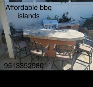 Outdoor BBQ Island BBQ Grill kitchen patio furniture for Sale in Riverside, CA