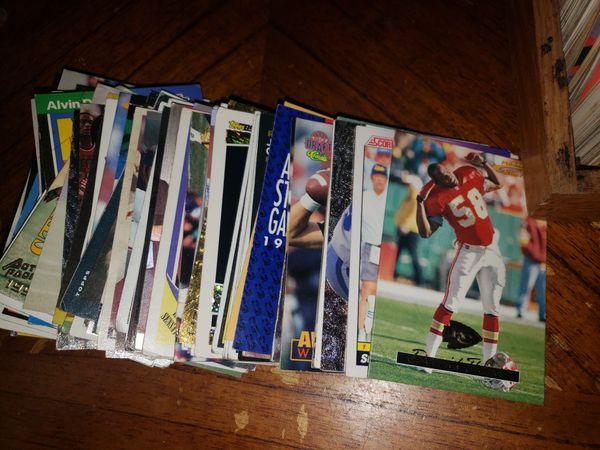 Baseball and foot ball cards 1950 -1990