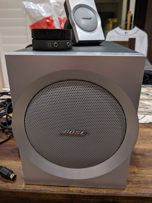 Bose Companion 3 multi media speaker system for Sale in Redondo Beach, CA
