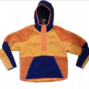 NWT Nike Air Tech Half Zip Pull Over Heritage Soft Sherpa Fleece Hoodie Jacket M for Sale in New Haven, CT