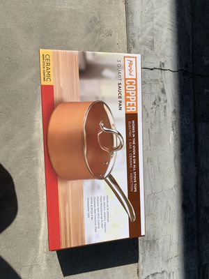 Parini Copper 3 Quart Sauce Pan for Sale in El Monte, CA