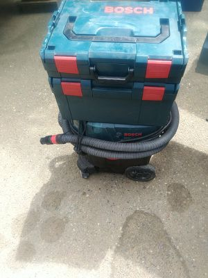 Bosch dust extractor system with attachments for Sale in Kent, WA