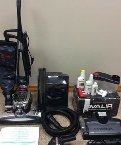 NEW cond KIRBY AVALIR2 Vacuum With COMPLETE ATTACHMENTS , SHAMPOO SYSTEM, ZIP BRUSH , AMAZING SUCTION , WORKS EXCELLENT, for Sale in Auburn,  WA