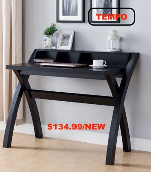 Desk with USB Outlet, Black for Sale in Huntington Beach, CA