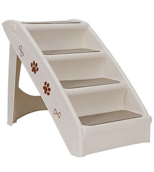 New Pet Stairs, Foldable Steps for Dogs and Cats They are balanced, comfortable and durable. for Sale in Pico Rivera, CA