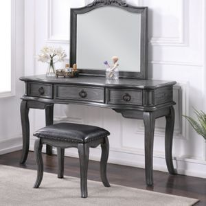 New Vanity Makeup Table with Bench Set for Sale in San Dimas, CA