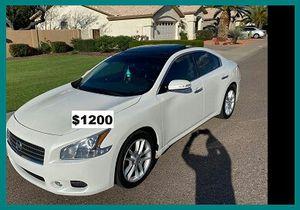 Price$1200 Nissan Maxima for Sale in Kansas City, KS