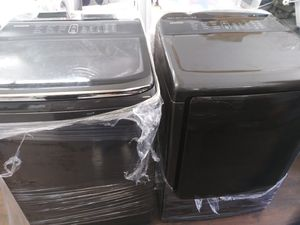 Samsung Top Load Black Stainless Steel Set for Sale in Chino Hills, CA