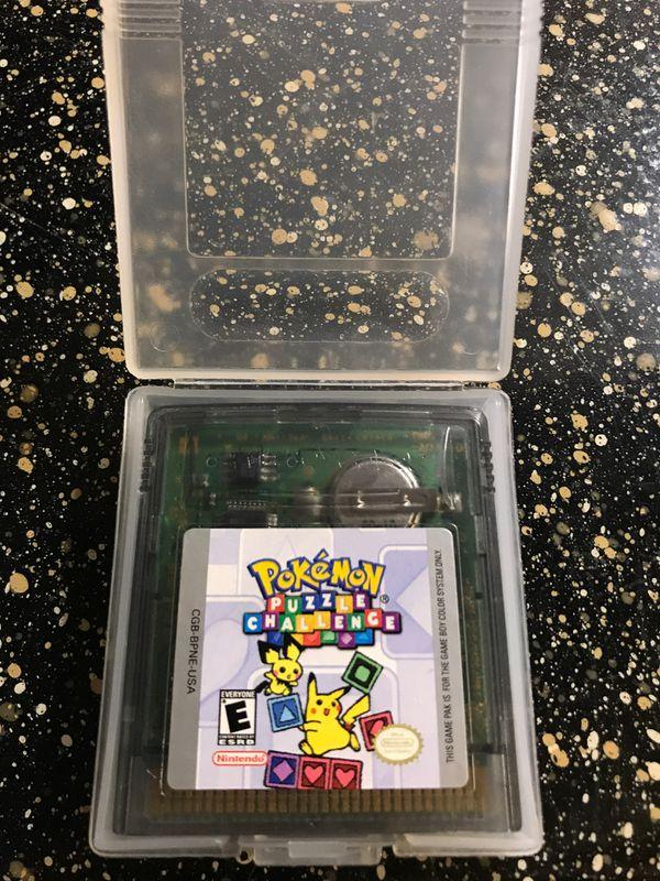 Pokémon Puzzle Challenge Game Boy Game