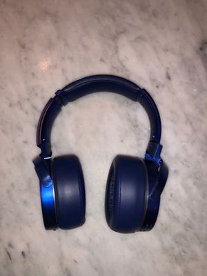 Blue Sony Extra Bass Headphones for Sale in Reston, VA