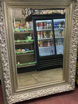 Vintage Large Square Mirror $495 for Sale in Los Angeles,  CA