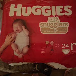 Huggies Little Snugglers Newborn 24 Count for Sale in Decatur, GA