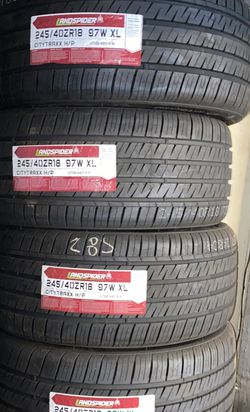 245/40R18 Marca Landspider Nuevas Y Garantizadas for Sale in Bellflower,  CA