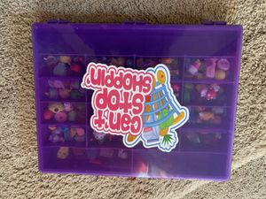 Shopkins storage case with 30+ shopkins for Sale in Westchase, FL