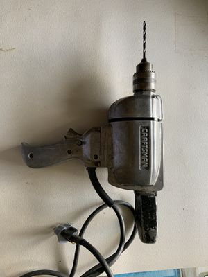 Vintage Craftsman Drill for Sale in Burbank, CA