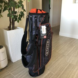 Golf Bag - Ogio - Orange and Black - New with tags NWT for Sale in San Antonio, TX
