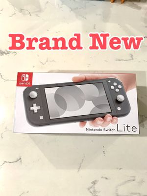 Brand New ~ Nintendo switch Lite Grey Color Console video game system. Never been opened. Pick up ! for Sale in Fontana, CA