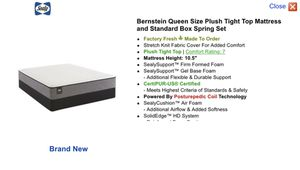 Brand new Sealy Bernstein queen sized mattress and box spring for Sale in The Bronx, NY