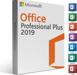Office 2019 Pro Suite Word Excel Outlook for PC and Mac Apple iMac Macbook Pro iPad Dell HP Desktops Laptops and more for Sale in San Diego,  CA