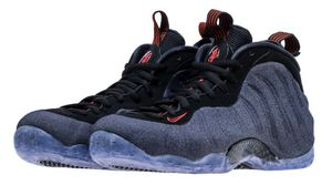 Nike air foamposite denim for Sale in Los Angeles, CA
