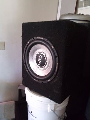 10inch Phoenix gold and amp for Sale in Castro Valley, CA