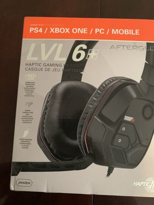 Afterglow lvl6+ gaming headset for Sale in Lebanon, PA