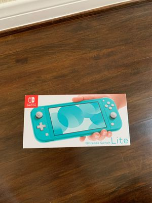 New Nintendo Switch Lite Turquoise for Sale in Redondo Beach, CA