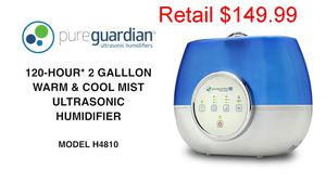 Pureguardian 120 hr Warm Cool Mist Humidifier for Sale in Greenbelt, MD