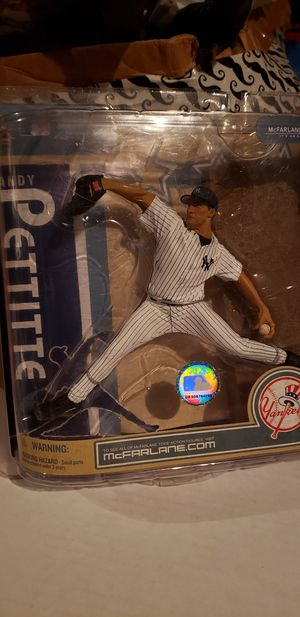 Ny Yankees Andy Pettite MCFARLANE action figure for Sale in Clovis, CA