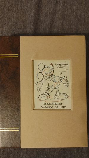 Limited Edition Disney's Sketches of Mickey Mouse Watch (1999) for Sale in Queens, NY