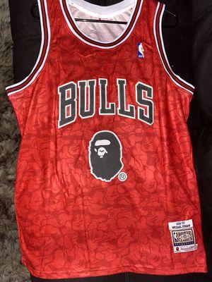 Bulls Jordan Bape Jersey for Sale in Bystrom, CA