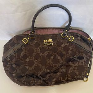 Coach Madison Dotted Sophia Satchel Bag for Sale in Fort Lauderdale, FL
