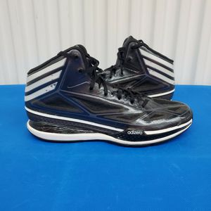 """ADIDAS Adizero Art G66515 Black VNDS Men's Size 13 Great Hoop Shoe Light Weight. Condition is """"Pre-owned"""". Shipped with CARE FAST! OUR PROMISE TO YOU for Sale in Lynnwood, WA"""