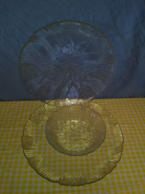 Clear glass plates for Sale in Parsons, KS