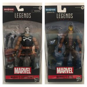 Marvel Legends Crossbones with Crimson Dynamo BAF & Rage with Abomination BAF Collectible Action Figure Toys for Sale in Chicago, IL